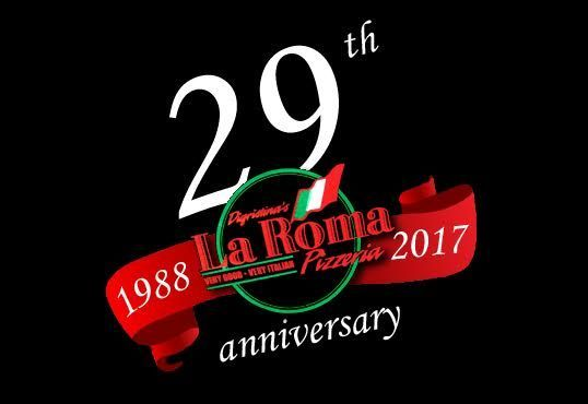 29th anni logo black