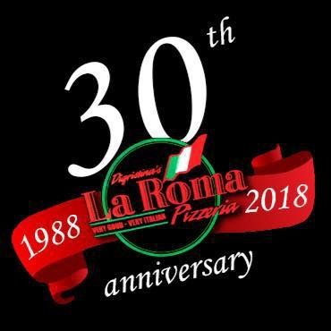 30th anni logo black